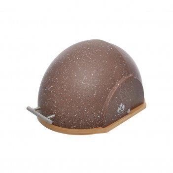 Хлебница royal classics тёмный шоколад 55,5*38,5*44 см