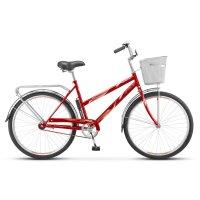 Велосипед 26 stels navigator-210 lady, z010, цвет красный, размер 19