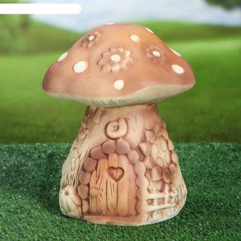 Садовая фигура сказочный гриб