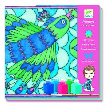 Набор для творчества - раскраска павлины