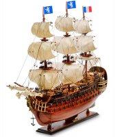 Spk-03 модель французского линейного корабля 1668г. le royal louis