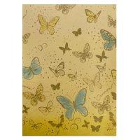 Бумага крафт для творчества бабочки счастья!