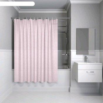 Штора для ванной комнаты iddis b55p218i11, 200x180 см, полиэстер