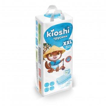 Подгузники-трусики kioshi xxl 16+ кг 34 шт