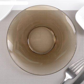 Блюдце 16 см basilico ca del vetro
