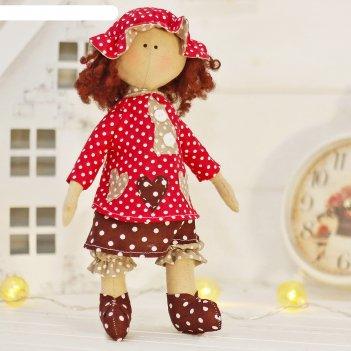 Набор для шитья текстильной игрушки крошка маргарет