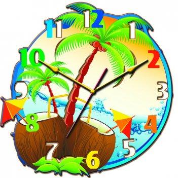 Часы настенные tiarella пляж