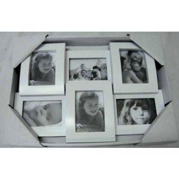 Фоторамка-коллаж для 6 фото 29*20*3см