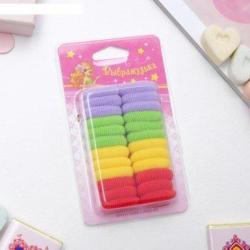 Резинка для волос малышка набор 24 шт 4 цвета