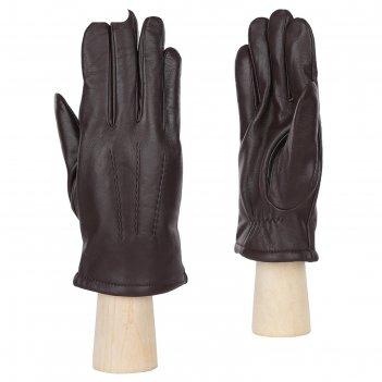 Перчатки мужские,натуральная кожа (размер 9.5) шоколадный