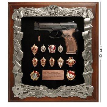 Пк-187 ключница пистолет ярыгина со знаками фсб