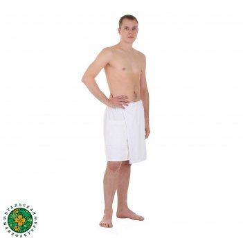 Мужской килт для сауны этель, размер 50х150 см, цвет белый