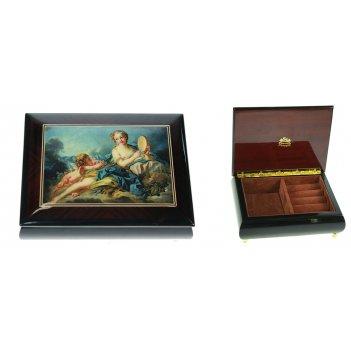 Шкатулка для ювелирных украшений mercante 17*13*6см