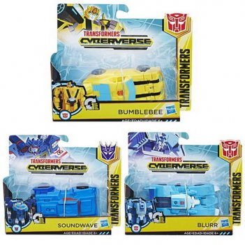 Transformers. кибервселенная уан степ, в ассортименте