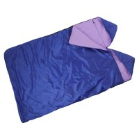 Спальный мешок престиж  3-х слойный с капюшоном 2-х местный