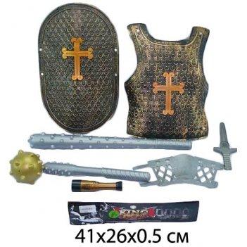 Набор оружия рыцарь, доспехи, щит