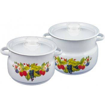 Набор кастрюль 2 предмета ягодный чай