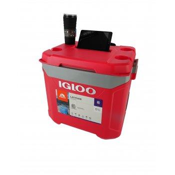 Изотермический контейнер igloo latitude 60 roller red