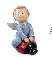 Cms-11/33 фигурка ангелочек-мальчик (pavone)