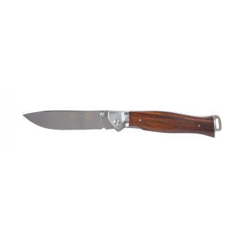 Нож складной stinger, 105 мм (серебристый), рукоять: сталь/дерево (серебр.