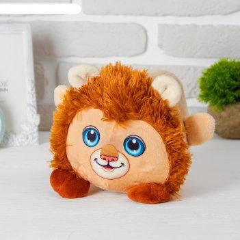 Мягкая игрушка-копилка «лев», со звуком, с подсветкой