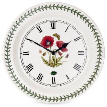 Часы настенные portmeirion ботанический сад.мак 25см