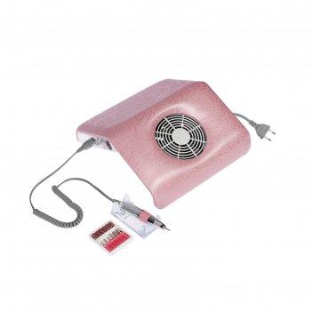 Машинка для маникюра с пылесборником luazon lmh-04, 25000об/мин, 3 мешочка