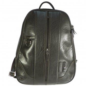 Рюкзак мужской, 42х10х34 см, отдел на молнии, наружный карман, спинка-сетк