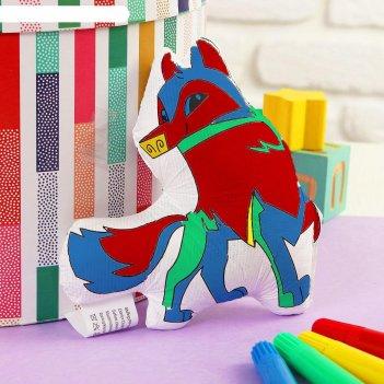 Игрушка-раскраска «собачка»(без маркеров) в пакете