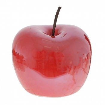 Фигурка декоративная яблоко, l15 w15 h12 см