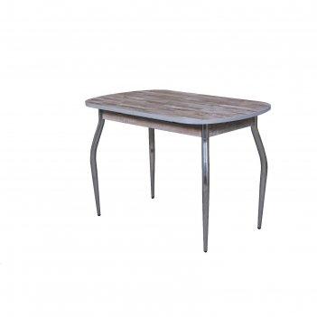 Стол лидер раскладной, 1000(1320)х600х750, столешница пластик глянец/шимо