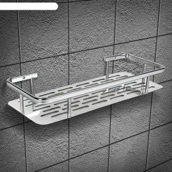 Полка для ванной комнаты, алюминий