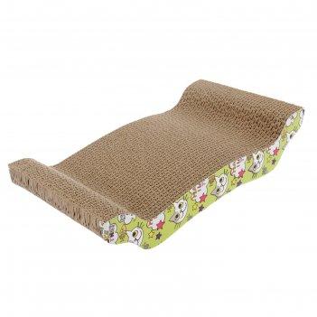 Гофрокогтеточка диван, 42 х 24 х 9 см