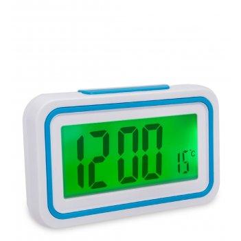 Ял-07-08/1 часы электронные говорящие (белый корпус с синим)