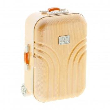 Шкатулка музыкальная чемодан, микс