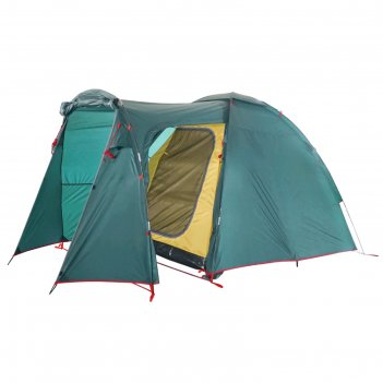 Палатка btrace element 3, двухслойная, трёхместная, цвет зелёный