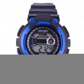 Часы наручные sport, электронные, с силиконовым ремешком и календарем, l=2