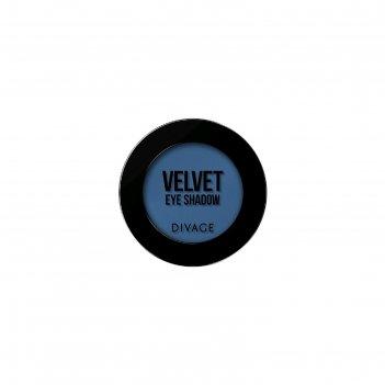 Тени для век divage velvet № 7318