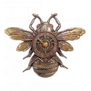 Ws-1062 настенные часы в стиле стимпанк пчела