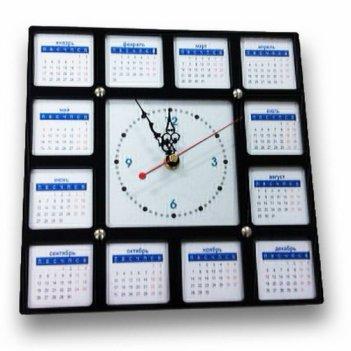 Часы сменные картинки черные  cl109ч 26х26см