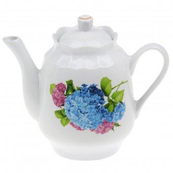 Чайник 1,75 л гортензия
