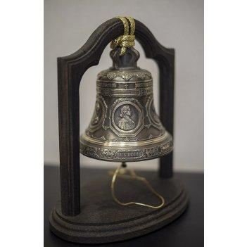 Колокол 1кг копия благовеста весом 16 000кг исаакиевского собора на дубово