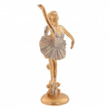 Фигурка декоративная балерина, l9 w8 h20 см