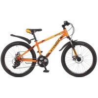Велосипед 24 stinger aragon, 2017, цвет оранжевый, размер 12,5