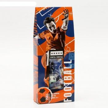 Подарочный гель-шампунь 2 в 1 для тела и волос футбол 250мл к12