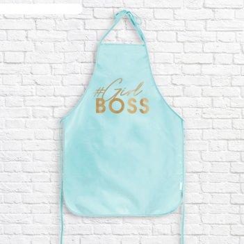 Кухонный фартук girl boss