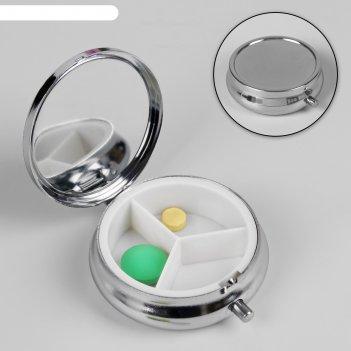 Таблетница в форме круга