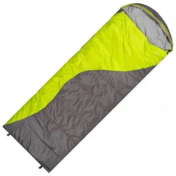 Спальный мешок туристический, 350 г/м2, -6 с, left, quilt 350l,