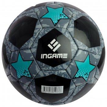 Мяч футбольный ingame pro black, размер 5