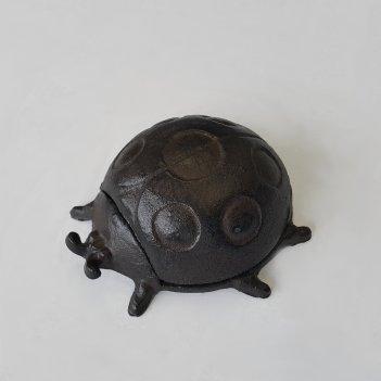 Шкатулка металлическая божья коровка (ym-kh-6062)